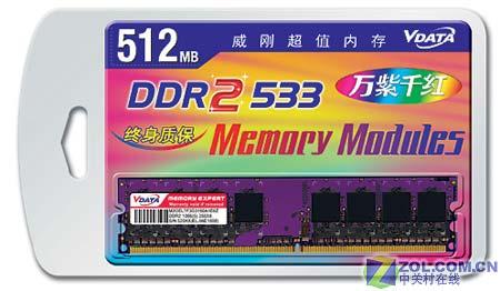 惊喜!威刚512M DDR2内存320元送鼠标