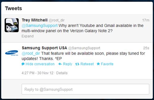 Verizon版三星GALAXY Note Ⅱ将迎来更新