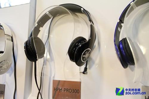 音响展2012:雅马哈新款耳机亮相展会