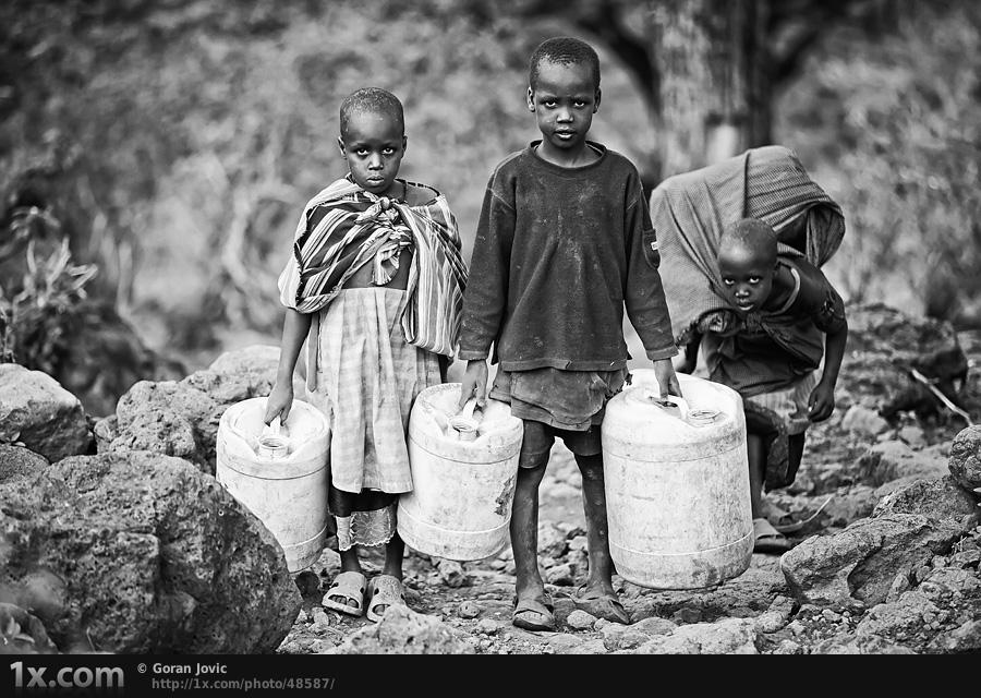 非洲儿童生活现状