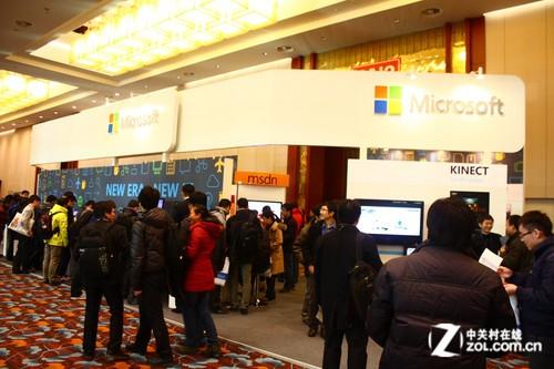 TechEd 2012:微软全明星阵容亮相展台