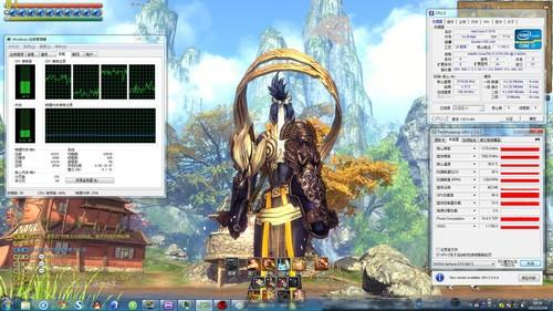 .9G 约98FPS 模拟X4 955 -剑灵 对CPU的需求 双平台测试 游戏网络
