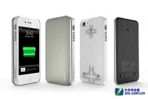 外出携带方便 iphone5移动电源保护壳