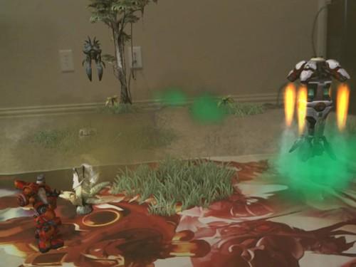 《火瀑》AR实验