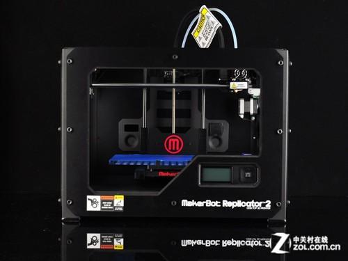美国原产 MakerBot R2桌面3D打印机首测