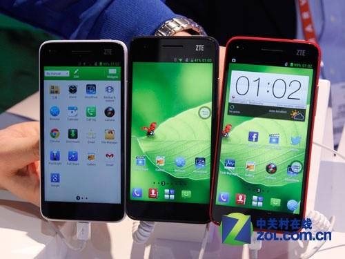 6.9毫米超薄 多色中兴Grand S LTE图赏