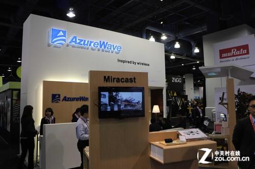 新无线显示技术风靡CES2013 海华推新品