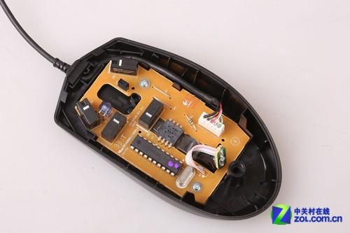 罗技g100和g300_罗技G100游戏鼠标拆解_罗技 G100鼠标_键鼠评测-中关村在线