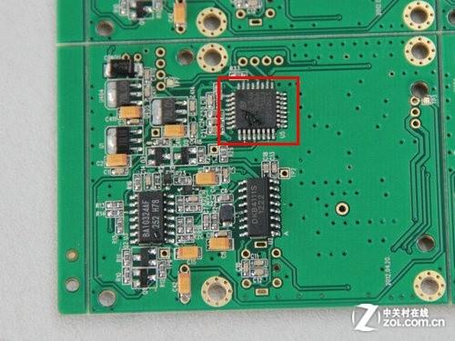 电子狗雷达电路板主控芯片