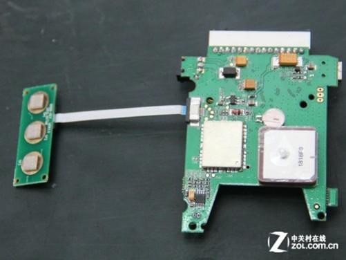 按键与固定测速电路板相连
