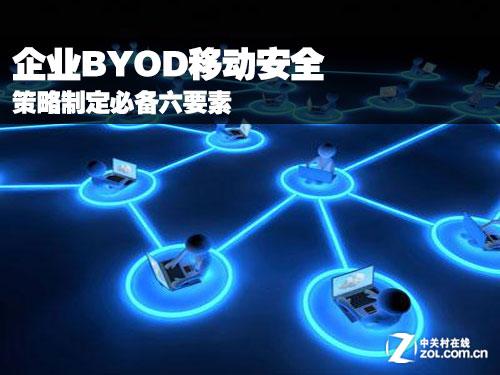 企业BYOD移动安全策略制定必备六要素