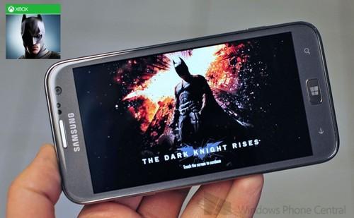 蝙蝠侠黑暗骑士崛起登陆XBOX WP8手机