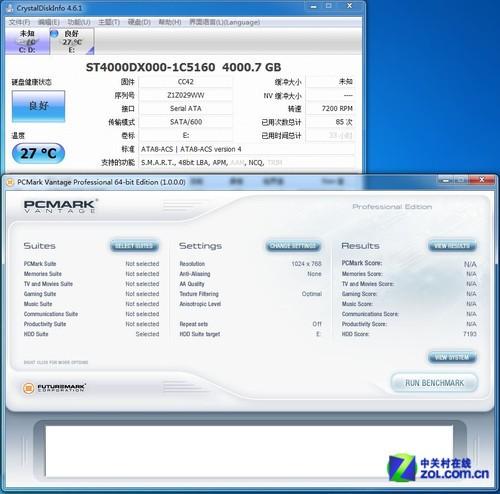 Pcmark vantage desktop hdd 4tb 5900 64mb