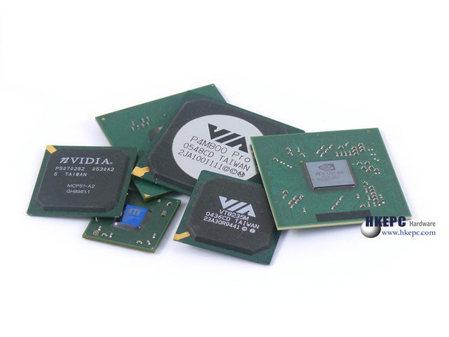 06主板芯片组厂商排行 NVIDIA跃居第二图片 20170 449x337