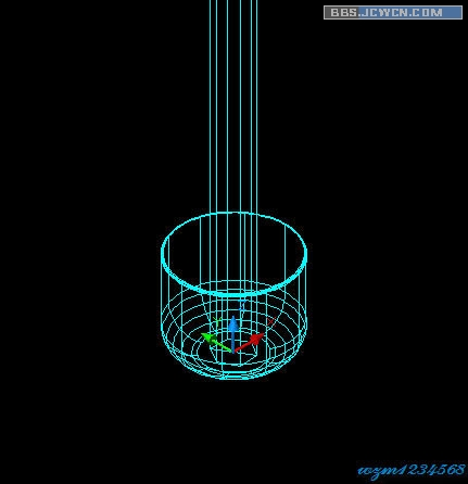 【雨伞图】AutoCAD三维高清实例:命令建模教cad基础程序小的图片