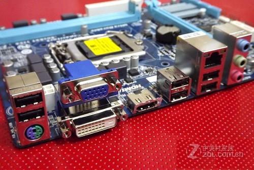 技嘉入门级H61小板 支持IVB仅售499元