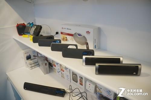 2013香港电子展:朗琴带来多款便携音响