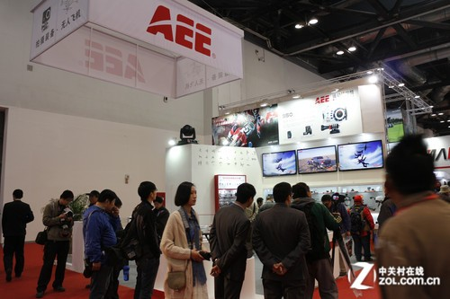 P&E2013:极限影像新体验 AEE展台一览