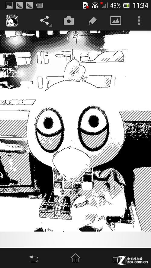 黑白举牌照素材空白图片 二次元