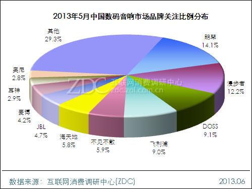 2013年5月中国数码音响市场分析报告