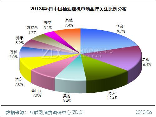 2013年5月中国抽油烟机市场分析报告