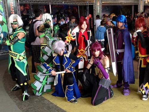 二次元无国界《永恒冒险》全球玩家cosplay赏