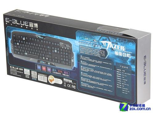 宜博魅影狂蛇特别行动XL键盘首测