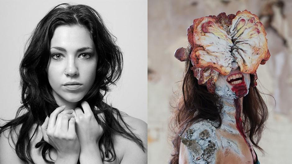 化妆师神技术美女模特变身美国末日循声者 游