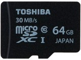 东芝microSDXC UHS-I卡 class10(64GB)