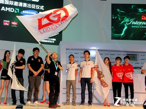 远征西雅图 AMD携手三星为中国战队壮行