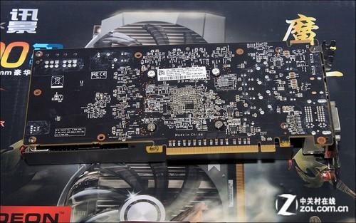 惊艳双风扇 2GB讯景HD7850上市报价1299