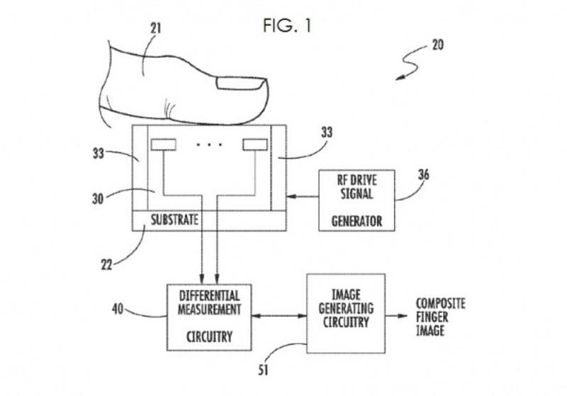 苹果在欧洲获得新专利:指纹识别传感器 (3/9)