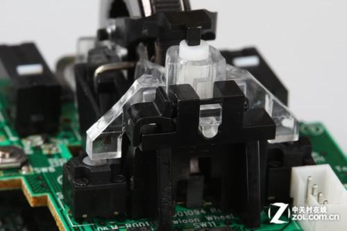 罗技g700s游戏鼠标滚轮结构展示