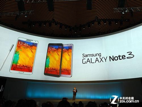 三星GALAXY Note 3发布