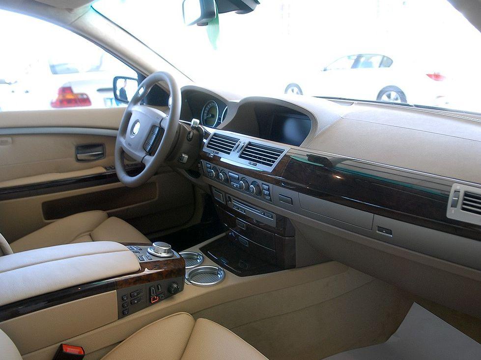 宝马7系 760li; 宝马7系中控方向盘图片; 2004款 宝马 760li