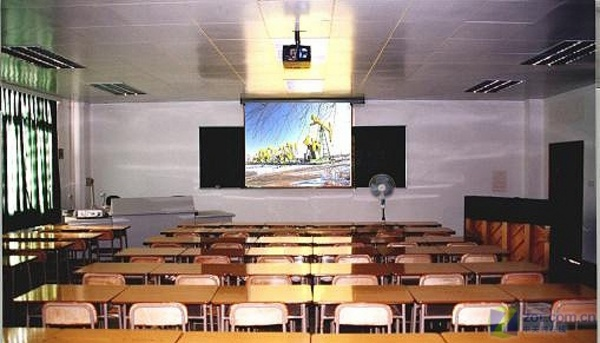 投影教室 效果图