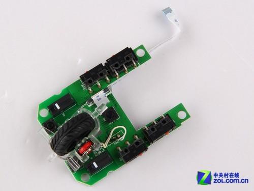 技嘉gm-m8600游戏鼠标上盖电路板展示