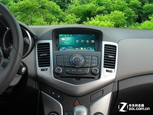 路畅雪弗兰科鲁兹车载dvd导航现货安装高清图片