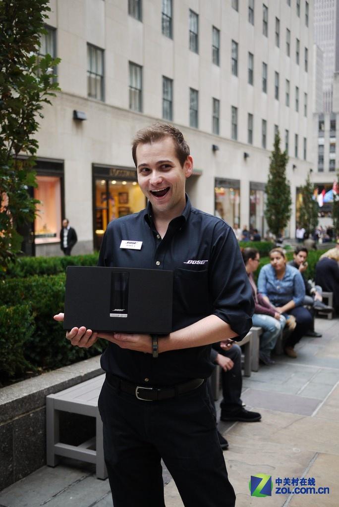 产品自由体验 Bose纽约第五大道店揭秘
