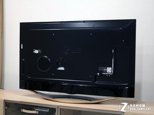 无边框和土豪金元素_lg 55ga7800-cb_液晶电视评测