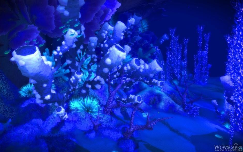 游戏频道图片库 魔兽世界精美壁纸 艾泽拉斯最美风景      国外《魔兽