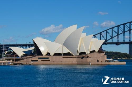 大c游世界 澳洲地标悉尼歌剧院旁散步