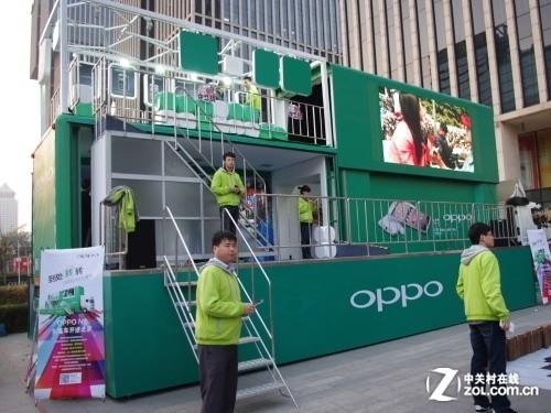 趣玩创意拍摄体验 oppo n1大篷车抵达北京