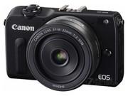 佳能 EOS M2套机(EF-M 18-55mm,EF-M 22mm,90EX闪光灯)
