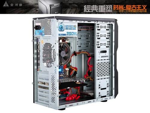 超强散热  升华机箱标配3个风扇安装位