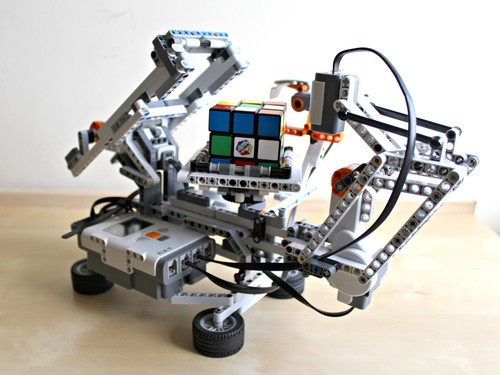 成机器人的骨架