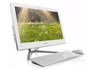 【Lenovo授权专卖 顺丰包邮】联想 C440(G1620T/4GB/500GB)21.5英寸一体台式电脑(赛扬双核G1610T 4G内存 500G硬盘 1G独显 DVDR