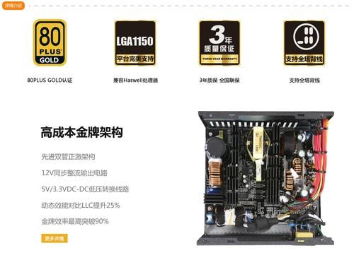 又一款金牌 鑫谷GP700G黑金易迅首发