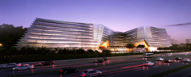 硅谷顶尖科技公司总部建筑设计一览