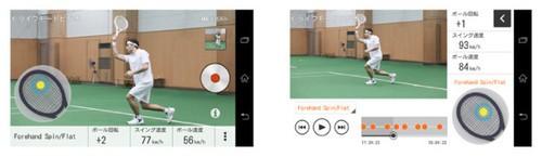 索尼发布网球拍感应器